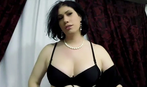 ScarlettAnnEvans TS Bedroom Teasing